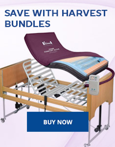 Harvest bundles profiling beds and pressure relief mattresses