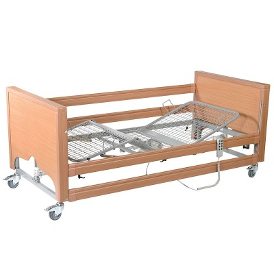 Casa Med Classic FS Profiling Bed with Side Rails and Metal Mesh
