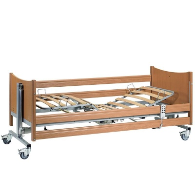 Casa Med SE Deluxe Profiling Bed with Integral Side Rails