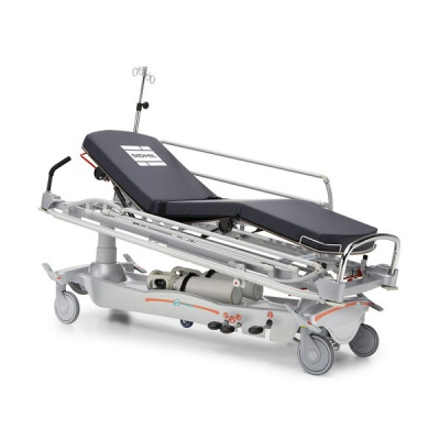E-Med 1400 Four-Section Patient Trolley