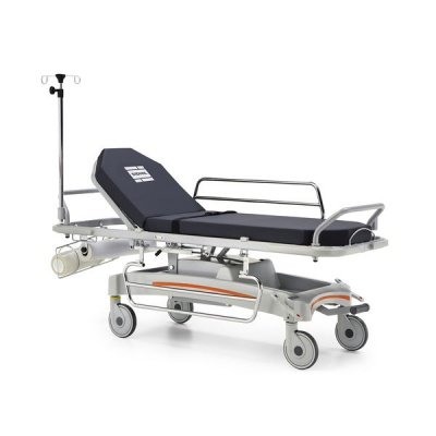 E-Med 1500 Two-Section Patient Trolley