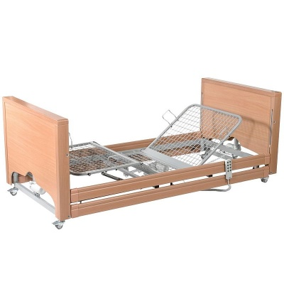 Casa Med Classic FS Low Profiling Bed with Side Rails and Metal Mesh