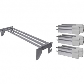 Aluminium Side Rail Length Extension with Platform for Harvest Ultimate 1200mm Wide Bariatric Profiling Beds