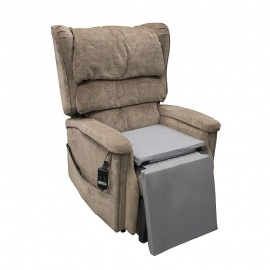 Ultimate Healthcare Ultra-Cline Pressure Relief Rise Recliner Seat and Leg Cushion Set