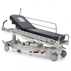 E-Med 1200 Two-Section Patient Trolley