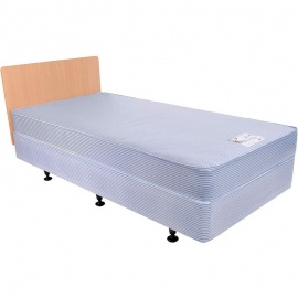 Harvest Divan Nursing Home Bed, Mattress and Headboard Bundle