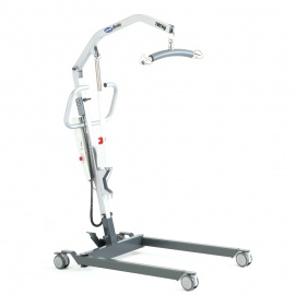 Invacare Birdie Hoist with Electric Leg Opening and Detachable Battery