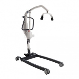 Invacare Birdie Evo Compact Mobile Hoist with Manual Leg Opening and Detachable Battery