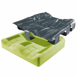 Matrx Flo-tech Solution Xtra Pressure Relief Wheelchair Cushion